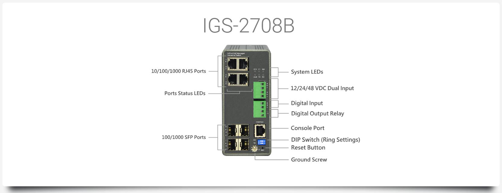 IGS-2708B