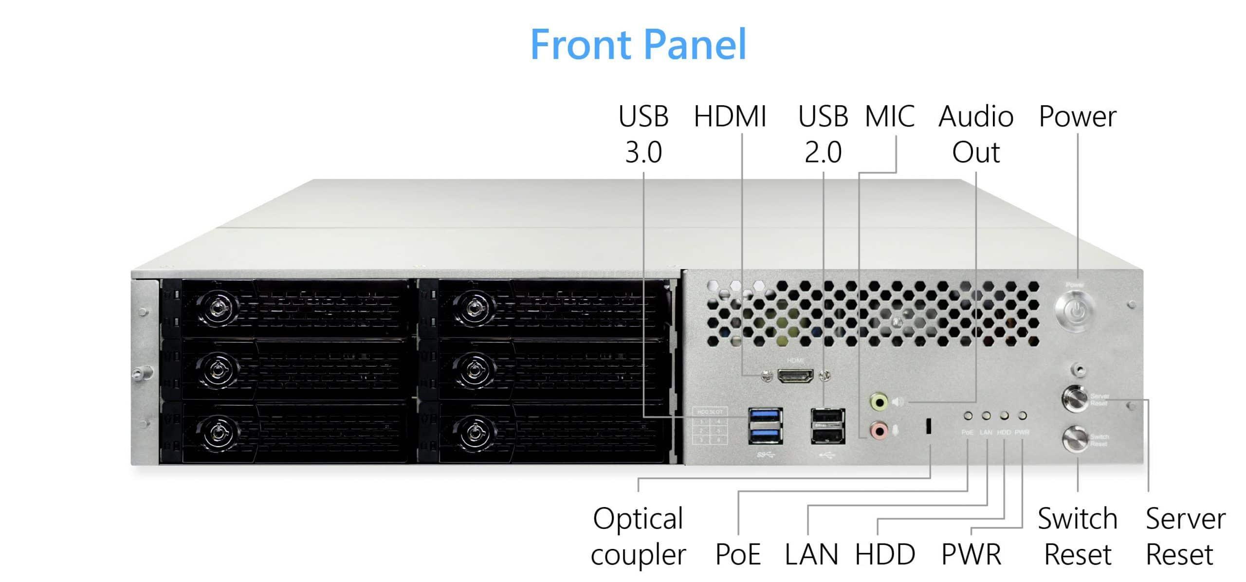 NVPS-Series PoE NVR ODM Customization Service
